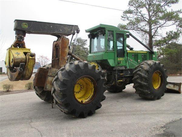 JOHN DEERE 648H  šumarski traktor