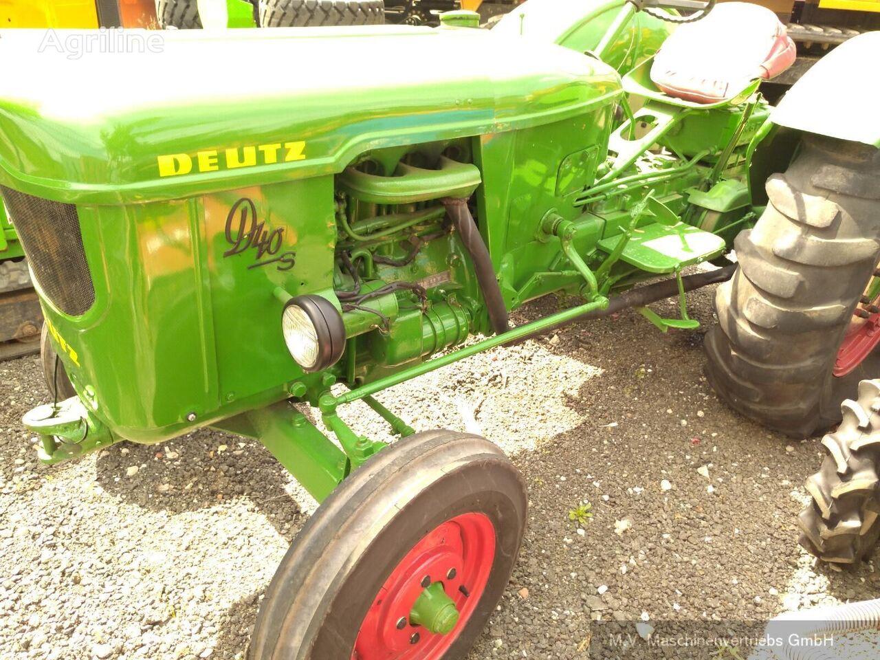 DEUTZ-FAHR D40 S traktor točkaš