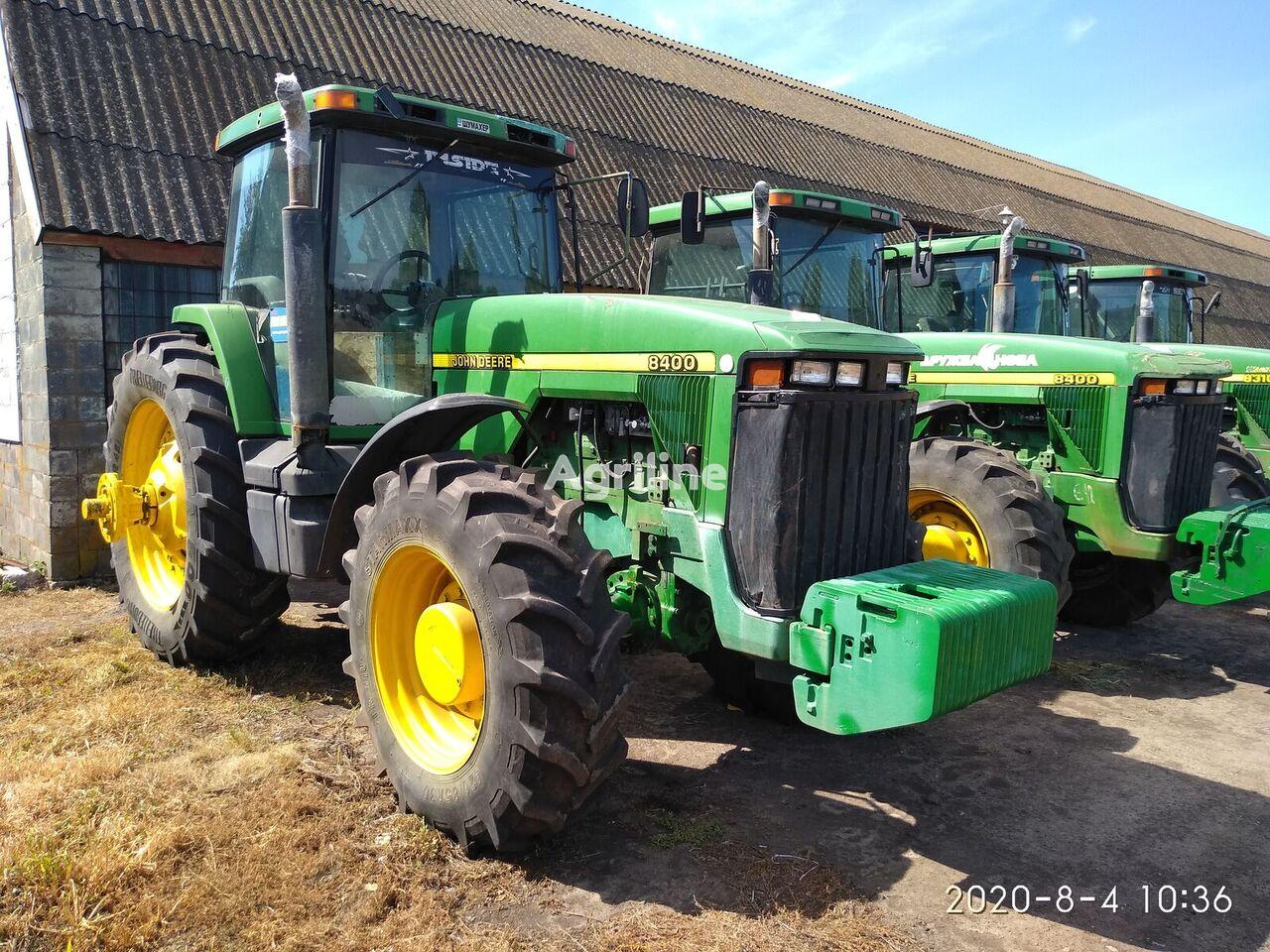 JOHN DEERE 8400, 8410 traktor točkaš