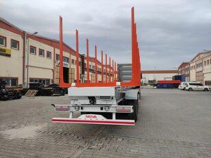 nova NOVA TIMBER SEMI TRAILER PRODUCTION with SAF AXLE and BUNKS timber poluprikolica za revoz drva