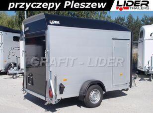 nova DB-019 przyczepa furgon, kontener, bagażowa, do motocykli, ścian prikolica autotransportera