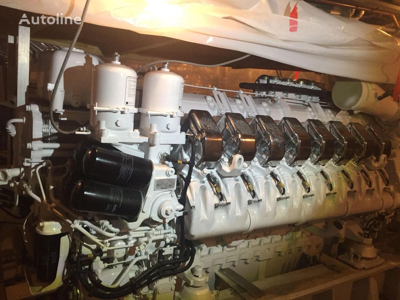 novi MTU motor za MAN MTU 16V4000M90 MARINE kampera