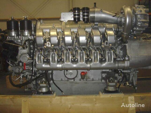 novi MTU MARINE 12V 2000 M90 motor za MAN MTU kampera
