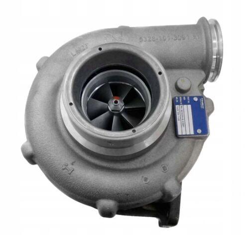 novi turbokompresor motora za MAN tegljača