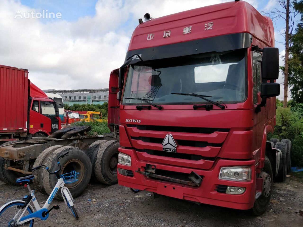 HOWO truck head cheap for sale tegljač