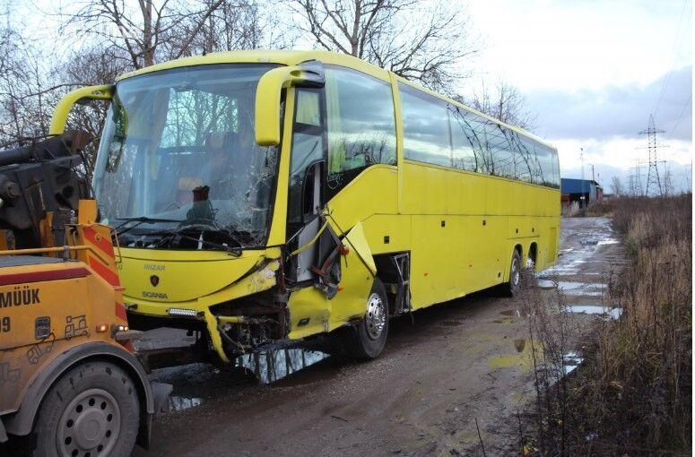 SCANIA Irizar  turistički autobus po rezervnim dijelovima