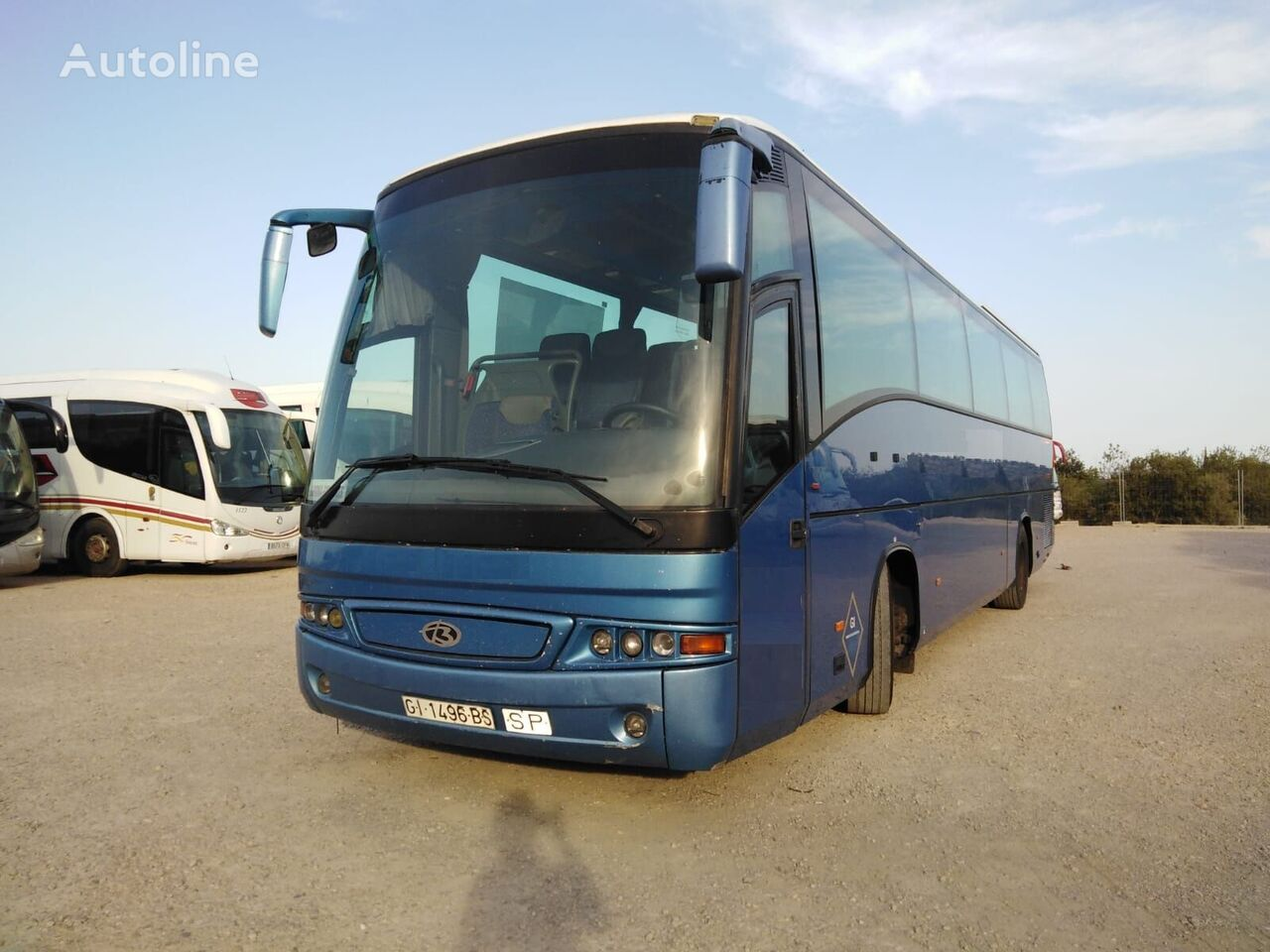 SCANIA K124 BEULAS turistički autobus