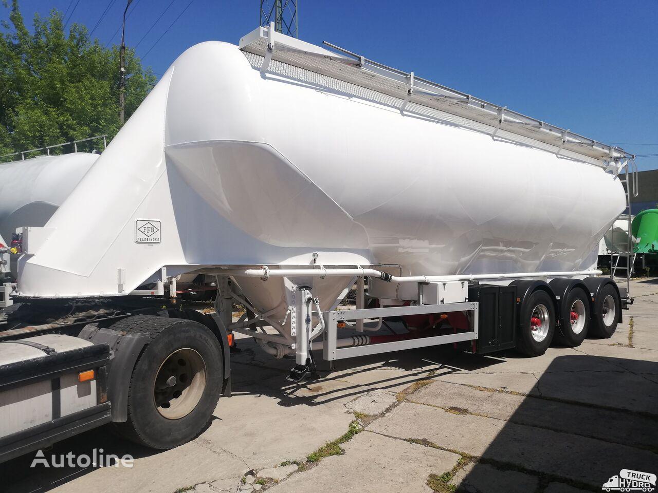 FELDBINDER EUT 49.3 - 4 KOMORY vozilo za prijevoz brašna